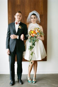 Fabulous Mid-Century Wedding Inspiration from Kirill Bordon Photography