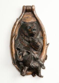 Grizzly Bear Door Knocker