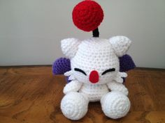 crochet final fantasy | First pattern I made, ever! Haven't seen many moogle dolls based ...