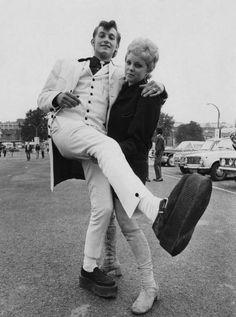 1970s Teddy Couple, London. S)