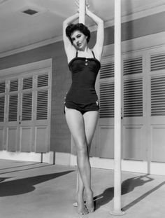I will maintain that Cyd Charisse's figure should be the only figure to be coveted. Same with this swimsuit.