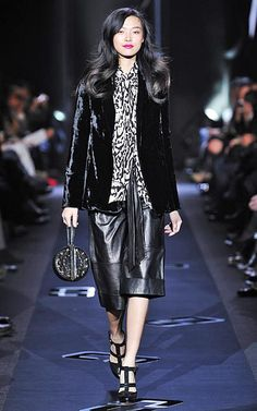DVF | Runway, Fall 2013: Glam Rock #NYFW http://on.dvf.com/1eLiDle