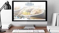 Seafood Restaurant Free Website Template Freebies Food Free Layout PSD Resource Restaurant Template Web Design