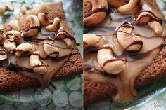 HAPPYFOOD - Шоколадные блинчики с кленовым сиропом и кешью