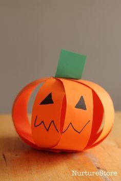 easy pumpkin crafts for kids