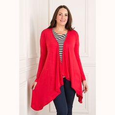 Nicole Waterfall Cardigan (349019) | Ideal World | Fashion ...