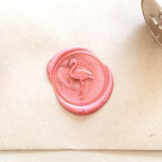 Flamingo Wax Stamp Custom Seal Stamp