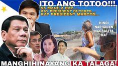 MANGHIHINAYANG AT MAIINIS KA PAG NARINIG MO ITO  TUMULO BIGLA ANG MGA LUHA MANILA BAY UPDATE - YouTube President Of The Philippines, Presidents, Youtube, Movies, Movie Posters, Films, Film Poster, Cinema, Movie