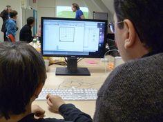 Coding Goûter, Des kids, du code, et du cake.
