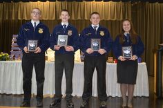 Mississinawa Valley-MVCTC FFA Holds Annual Parent/Member Banquet | Miami Valley Career Technology Center
