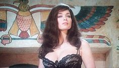 Calvin's Canadian Cave of Coolness: Blood From The Mummy Tomb Valerie Leon, Film Games, Hammer Films, Scream Queens, Music Film, Beautiful Actresses, Most Beautiful, Blood, Glamour