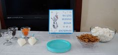 Do you want to build a snowman? Frozen Birthday Party Ideas   Photo 1 of 44   Catch My Party