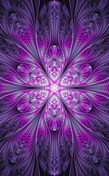 Ultra Fractal 5 For La-fi's Purple contest - I would like to thank anyone who faves my work ahead of time. Art Fractal, Fractal Geometry, Fractal Images, Fractal Design, Purple Love, All Things Purple, Shades Of Purple, Cellphone Wallpaper, Iphone Wallpaper