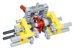 LEGO Technic Building Tip - 4 Function Switch using Gears - ICHIBAN Toys