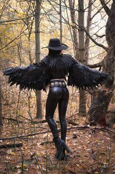 Toxic Vision 'The Raven' jacket Toxic Vision, Hot Goth Girls, Gothic Girls, Dark Beauty, Gothic Beauty, Dark Fashion, Gothic Fashion, Latex Fashion, Steampunk Fashion