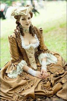 Steampunk fashion...I dunno how particularily Steampunk it is - but she is gorgeous