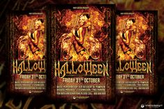 Check out Halloween Flyer Template V3 by ThatsDesign on Creative Market