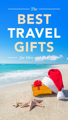 Don't know what to buy your friend who is always traveling? Need some travel gift ideas? Click the pin to find the best travel gifts for him and her. #travelgifts #giftideas