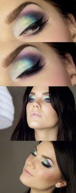 Maquillaje De Fiesta Para Ojos Makeup Eyes Party CentralMODA.COM