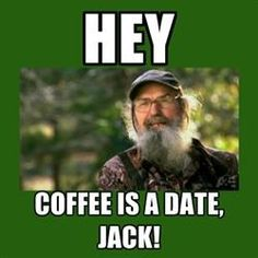 Coffee is a date jack