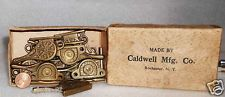 Vintage Side Sash Locks Empire 10 Caldwell Mfg Co Brass Mint New Old Stock Antiq