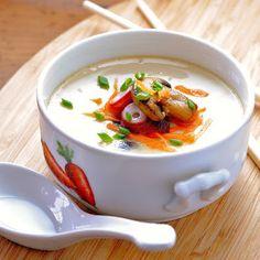JULES FOOD...: Chawanmushi. Japanese Steamed Egg Custard