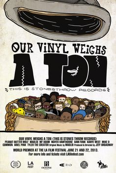 Los Angeles: Our Vinyl Weighs a Ton Premiere & Party | Stones Throw Records