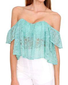 Modern Girl Lace Crop Top