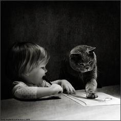 """Drawing Teacher"" -- Photographer Andy Prokh."