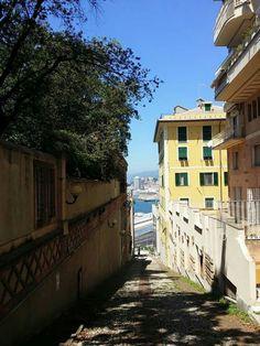 Creuza de ma in Carignano a Genova. Italy