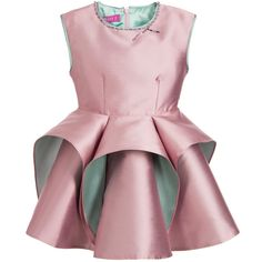ValMax Lilac & Green Dress with Fluted Layered Skirt at Childrensalon.com