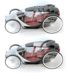 Fayton concept car - The horse-drawn buggies of the early 19th century served as the primary source of inspiration for the Fayton concept car. Designer Utkan Kiziltug&#...