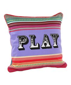"""""""Game room"""" pillow"""