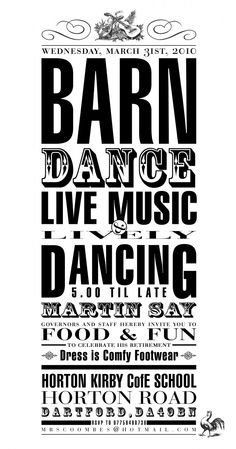 Barn Dance Farm children Pinterest Barn dance Dance posters