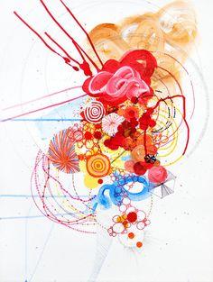 Pretty archival pigment print by Jennifer Sanchez