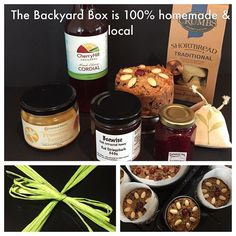 The Backyard Box. All local and handmade produce boxed and ready to give #keepingitlocal #sustainability #buylocal #dandenong_ranges #mtdandenong #olinda