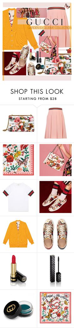 """""""Presenting the Gucci Garden Exclusive Collection: Contest Entry"""" by cutandpaste ❤ liked on Polyvore featuring Gucci and gucci"""