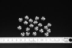 6pcs  plated luster rhodium brass part findings with cz by 3yes