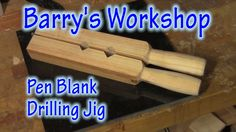 Quick and Easy Pen Blank Drilling Jig