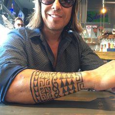 Remembering how much fun it was bumping into Lui at the kabob place! He's healed well! Tribal Tattoo Designs, Tribal Tattoos, Cool Tattoos, Island Tattoo, Lion Tattoo, Forearm Tattoos, Tattoo Studio, Tattoo Artists, Kabob