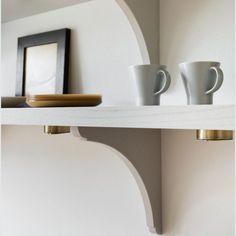 Klassinen keittiö 06 Floating Shelves, Home Decor, Decoration Home, Room Decor, Wall Storage Shelves, Interior Decorating