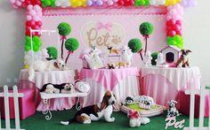 Pet Rosa - Muita Festa Decorações