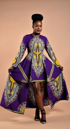 Femmes africaines vêtements robe de dashiki robe de bal