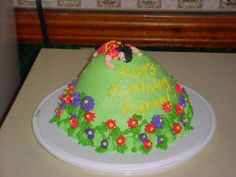 Over-the-Hill cake