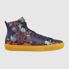 944ff1ade Donald Chucka - GUCCI x Donald Duck Capsule Collection - Disney Style Blog  - Shoes Sneaker