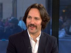 """Paul Rudd--I think on the """"Today Show""""."""