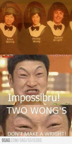 I'm Asian, but I don't care! This is SOOO FUNNY