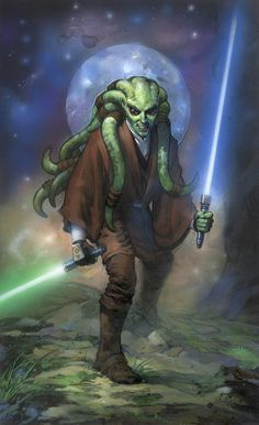 Kit Fisto by Terese Nielsen