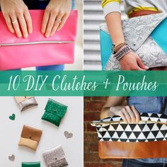 Totally going to make my own clutches!