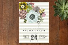 Seed Packet Save the Date Cards by Alethea and Ruth at minted.com